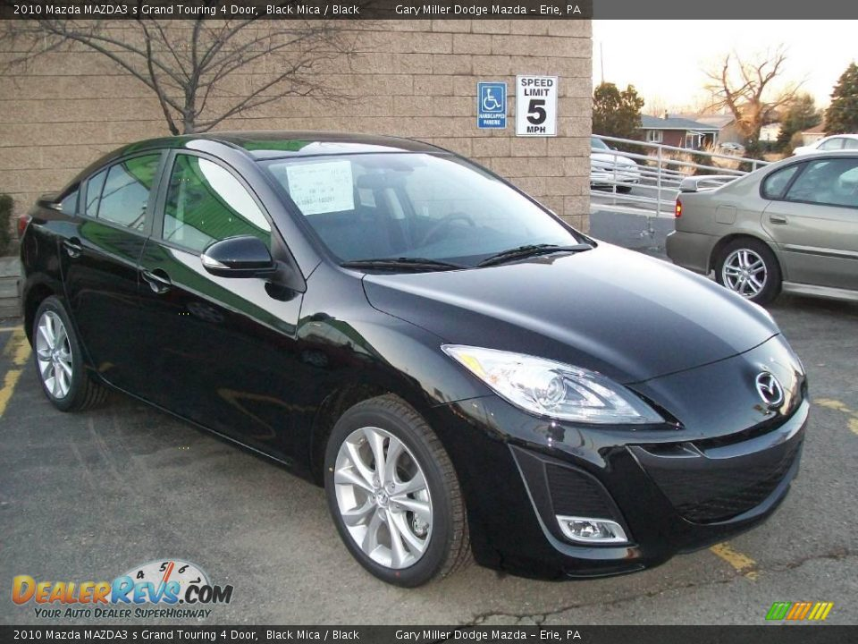2010 mazda mazda3 s grand touring 4 door black mica. Black Bedroom Furniture Sets. Home Design Ideas
