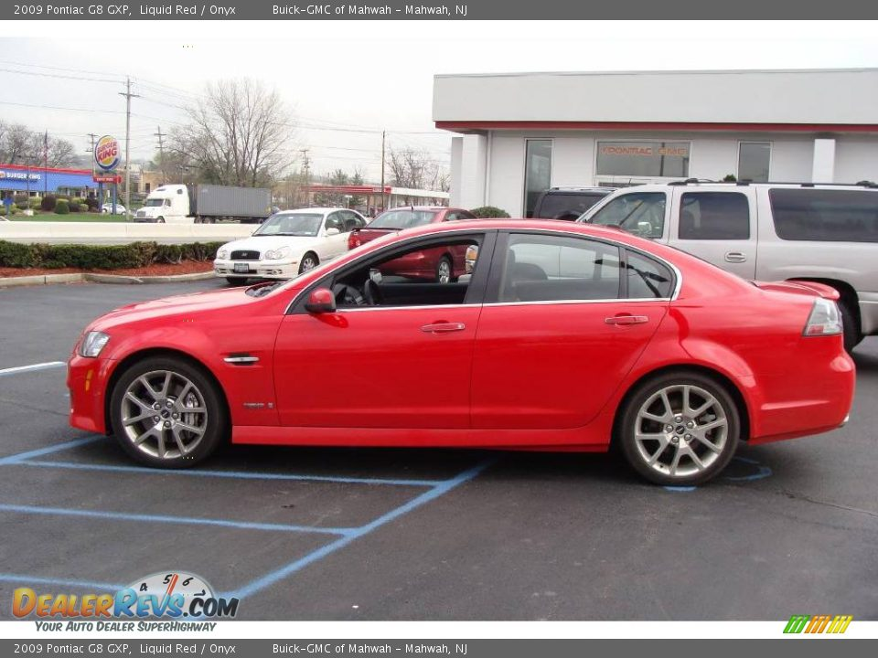 2009 pontiac g8 gxp liquid red onyx photo 8 dealerrevs com