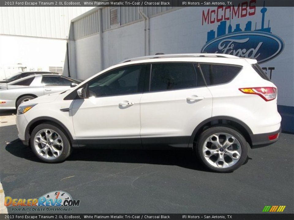 2013 Ford Escape Titanium 2 0l Ecoboost White Platinum