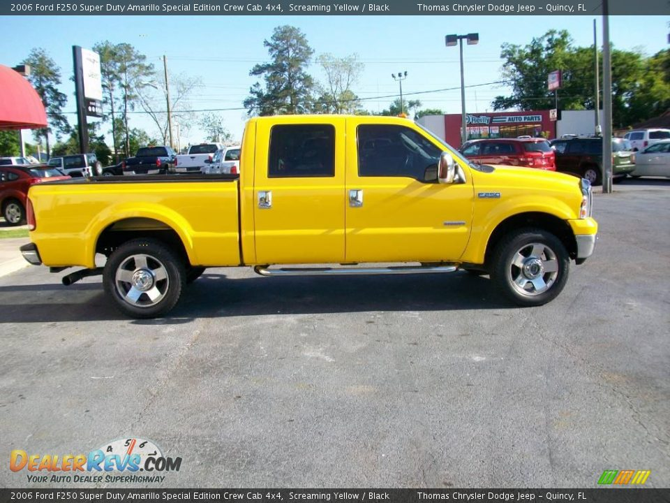 Used Cars Amarillo >> 2006 Ford F250 Super Duty Amarillo Special Edition Crew Cab 4x4 Screaming Yellow / Black Photo ...
