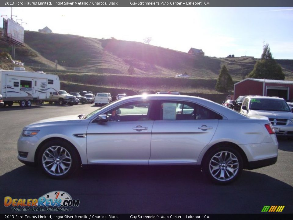 2013 ford taurus limited ingot silver metallic charcoal black photo. Cars Review. Best American Auto & Cars Review