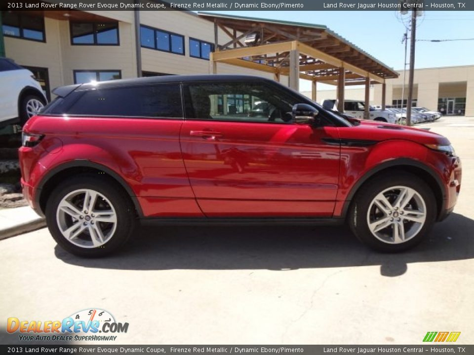 firenze red metallic 2013 land rover range rover evoque. Black Bedroom Furniture Sets. Home Design Ideas