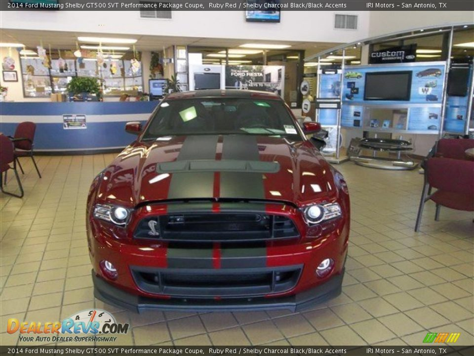 Ruby Red 2014 Ford Mustang Shelby GT500 SVT Performance Package Coupe