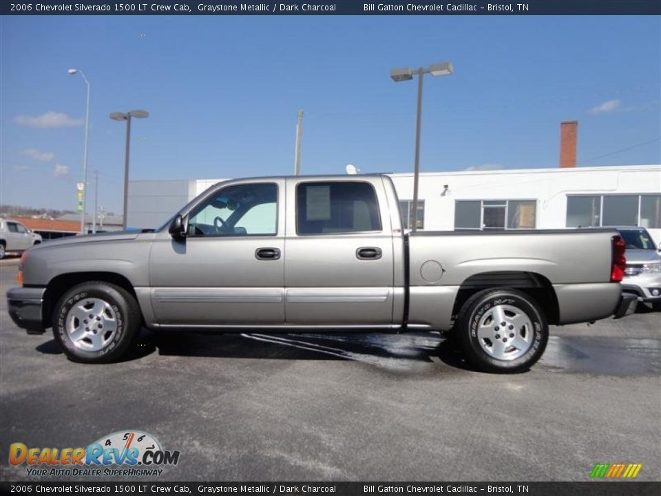 2006 chevrolet silverado 1500 lt crew cab graystone metallic dark charcoal photo 4. Black Bedroom Furniture Sets. Home Design Ideas