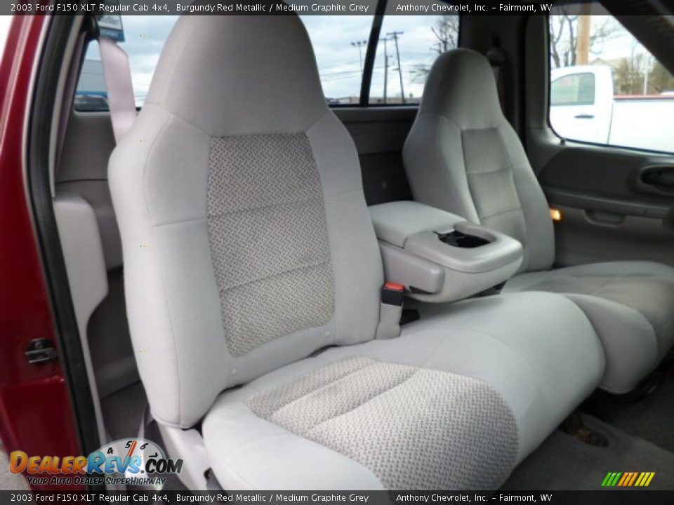 front seat of 2003 ford f150 xlt regular cab 4x4 photo 12. Black Bedroom Furniture Sets. Home Design Ideas