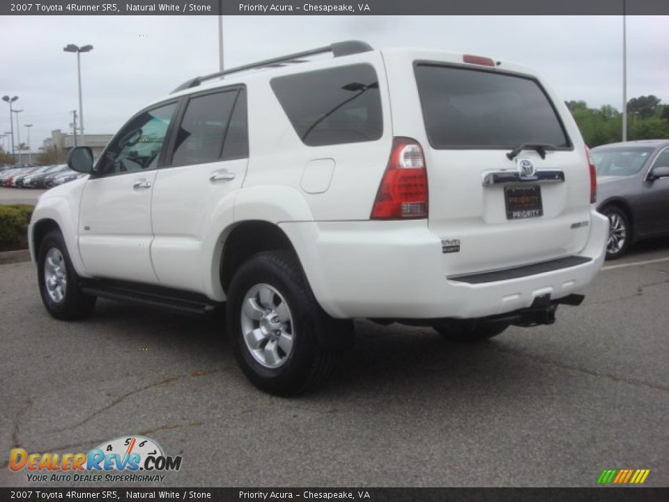2007 Toyota 4runner Sr5 Natural White Stone Photo 3