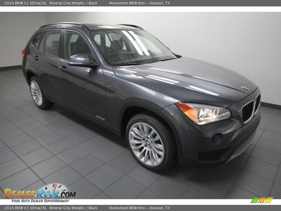 2014 bmw x1 sdrive28i mineral grey metallic black photo 6. Black Bedroom Furniture Sets. Home Design Ideas