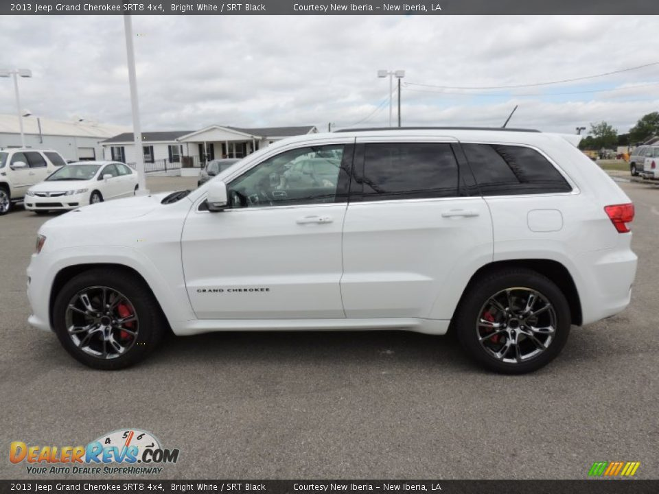 bright white 2013 jeep grand cherokee srt8 4x4 photo 6 dealerrevs. Cars Review. Best American Auto & Cars Review