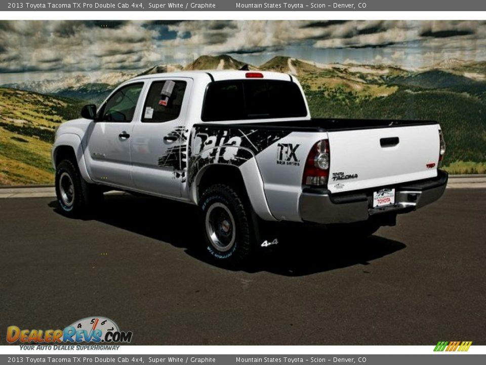 2013 Toyota Tacoma Tx Pro Double Cab 4x4 Super White