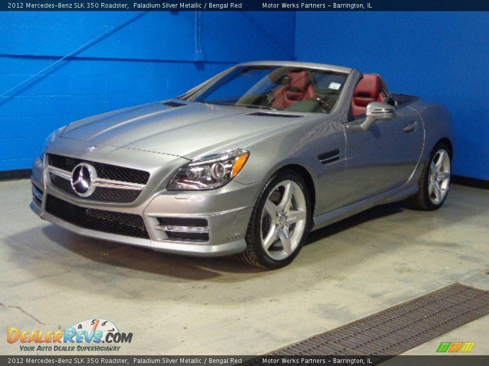 2012 mercedes benz slk 350 roadster paladium silver for 2012 mercedes benz slk