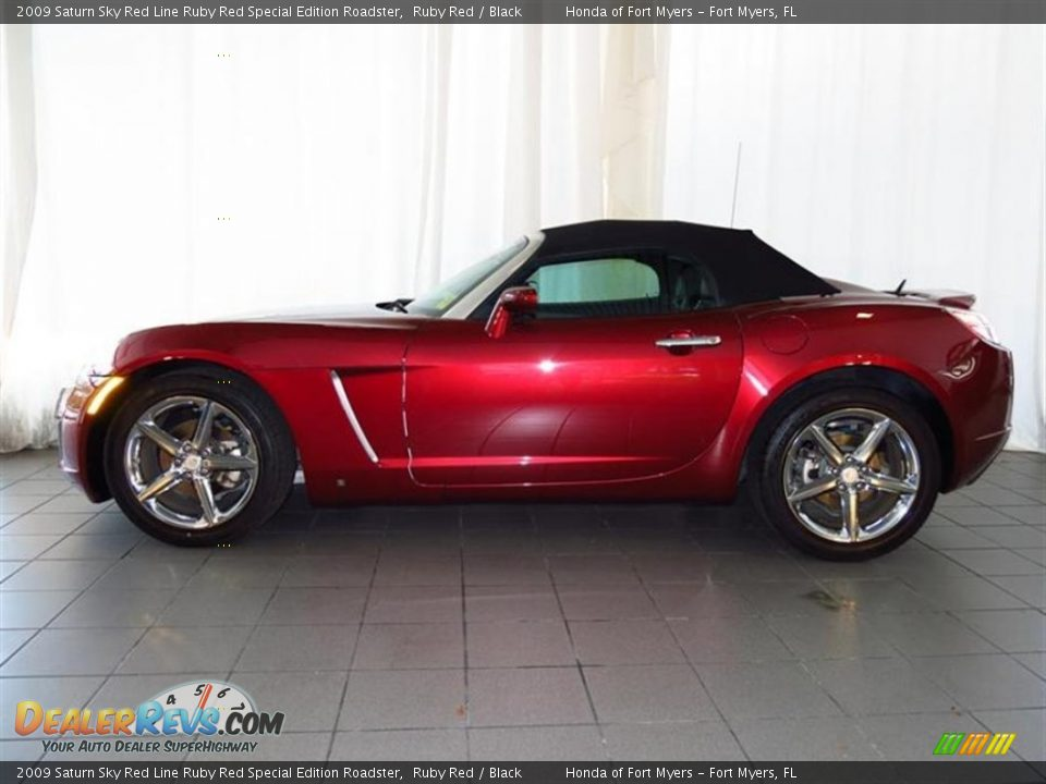 2009 saturn sky red line ruby red special edition roadster ruby red black photo 4. Black Bedroom Furniture Sets. Home Design Ideas