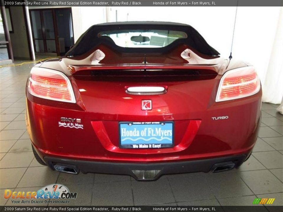 2009 saturn sky red line ruby red special edition roadster ruby red black photo 6. Black Bedroom Furniture Sets. Home Design Ideas