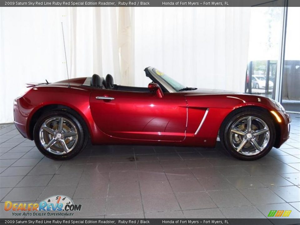 2009 saturn sky red line ruby red special edition roadster ruby red black photo 8. Black Bedroom Furniture Sets. Home Design Ideas