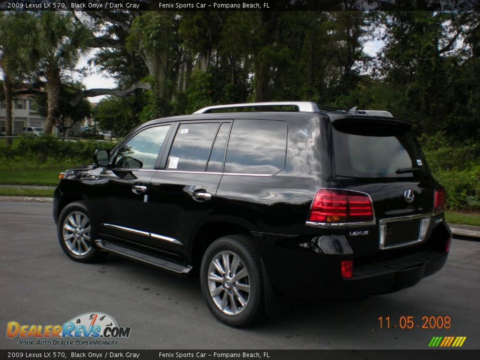 2009 lexus lx 570 black onyx dark gray photo 4. Black Bedroom Furniture Sets. Home Design Ideas