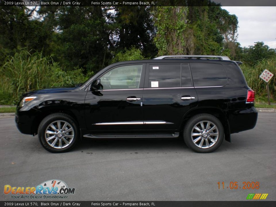2009 lexus lx 570 black onyx dark gray photo 8. Black Bedroom Furniture Sets. Home Design Ideas