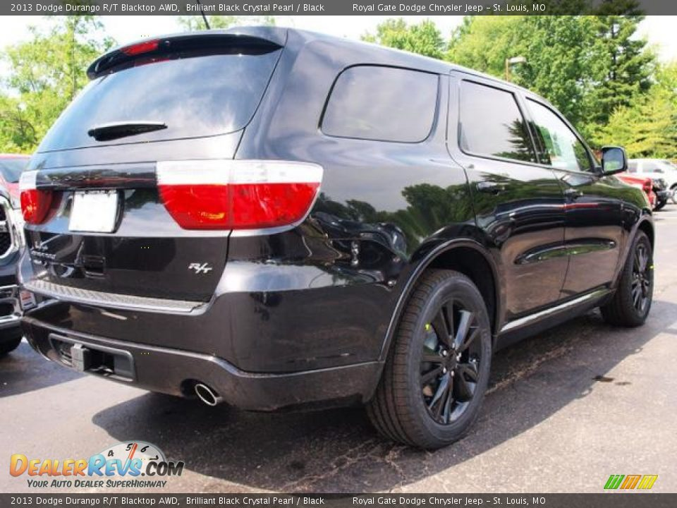 2013 Dodge Durango R T Blacktop Awd Brilliant Black