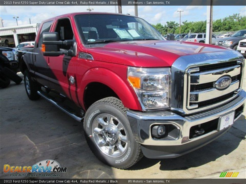 Ruby Red Ford F250 Super Autos Post
