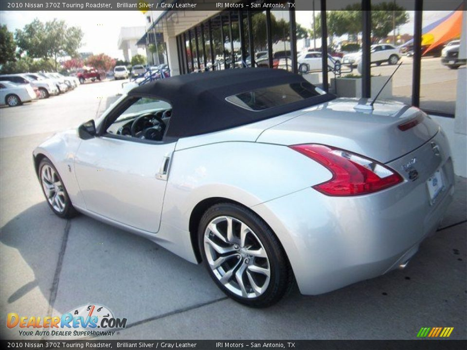2010 nissan 370z touring roadster brilliant silver gray. Black Bedroom Furniture Sets. Home Design Ideas