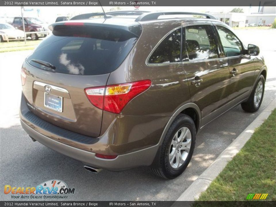 2012 hyundai veracruz limited sahara bronze beige photo. Black Bedroom Furniture Sets. Home Design Ideas