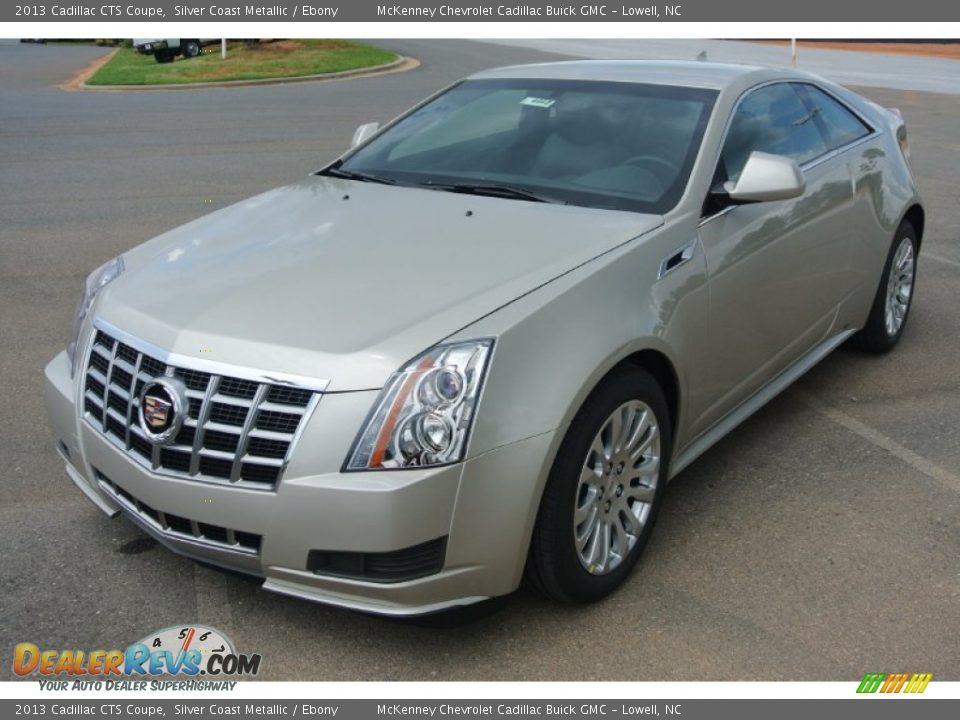 2013 Cadillac Cts Coupe Silver Coast Metallic Ebony