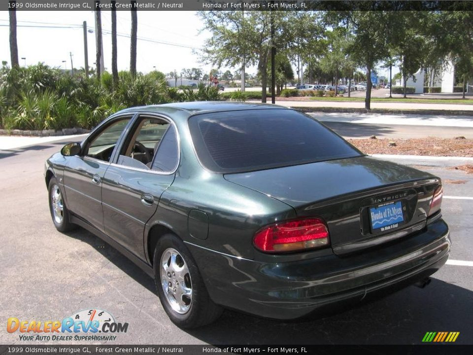 1999 oldsmobile intrigue gl forest green metallic. Black Bedroom Furniture Sets. Home Design Ideas
