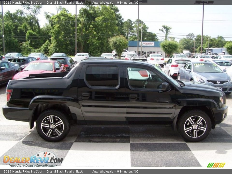 2013 honda ridgeline sport crystal black pearl black. Black Bedroom Furniture Sets. Home Design Ideas