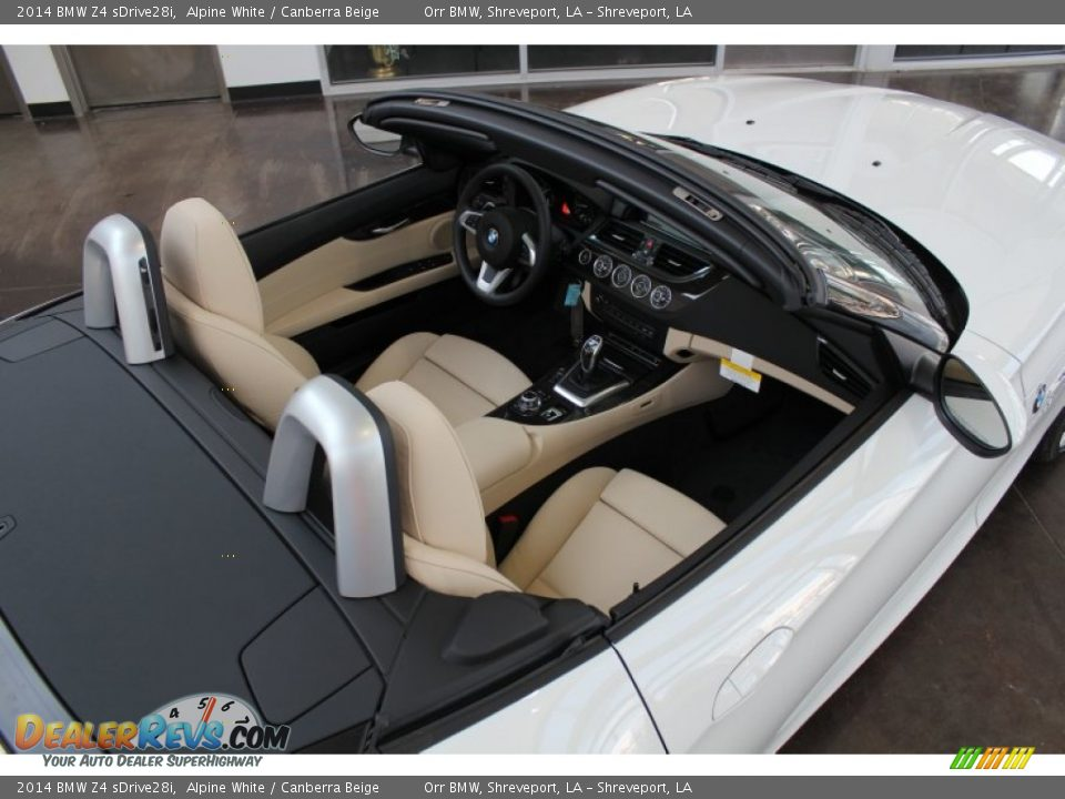 Canberra Beige Interior 2014 Bmw Z4 Sdrive28i Photo 12 Dealerrevs Com