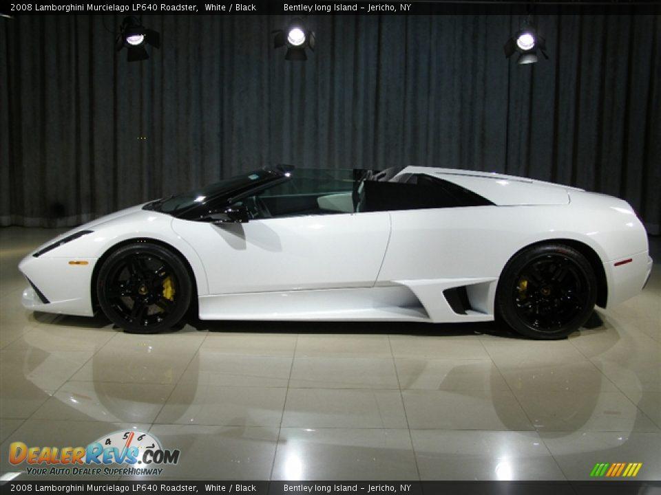 2008 Lamborghini Murcielago Lp640 Roadster White Black