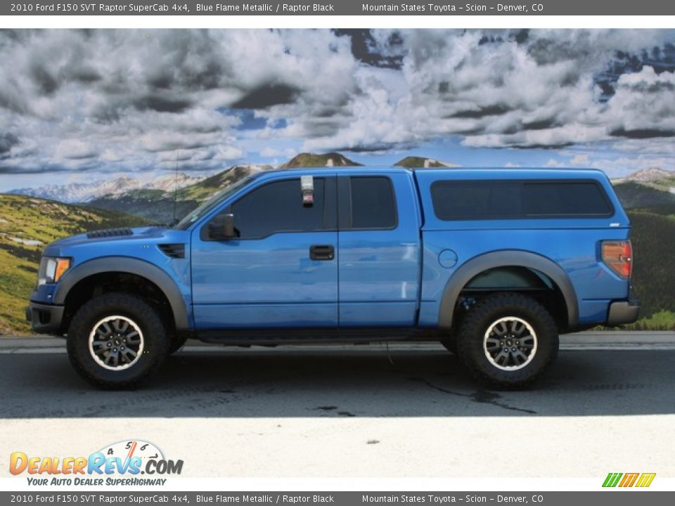 2010 ford f150 svt raptor supercab 4x4 blue flame metallic raptor black photo 6. Black Bedroom Furniture Sets. Home Design Ideas