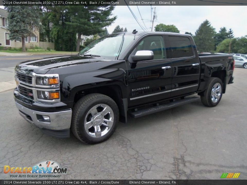 2014 chevrolet silverado 1500 ltz z71 crew cab 4x4 black cocoa dune photo 3. Black Bedroom Furniture Sets. Home Design Ideas