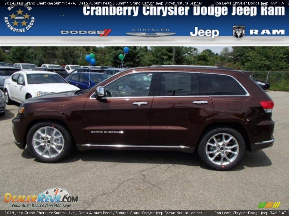 2014 Jeep Grand Cherokee Summit 4x4 Deep Auburn Pearl