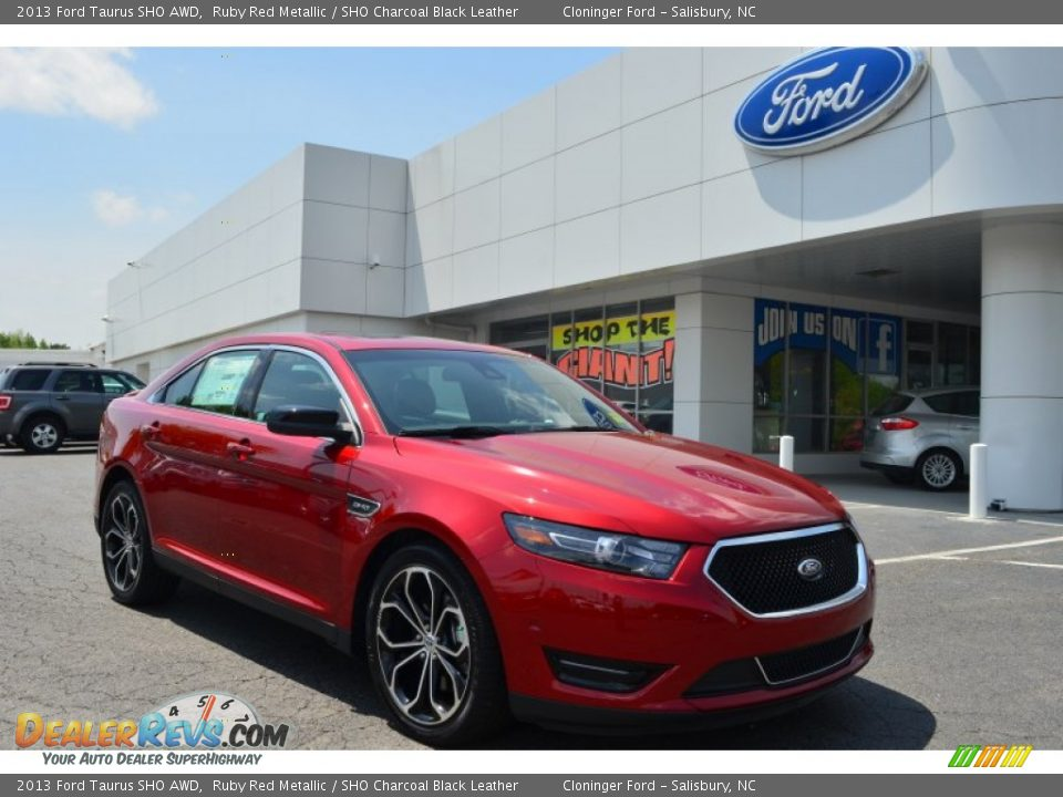 Ford Dealer Locator >> 2013 Ford Taurus SHO AWD Ruby Red Metallic / SHO Charcoal ...