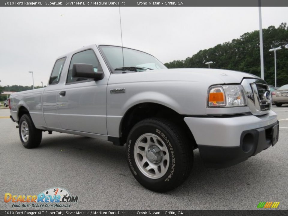 2017 Ford Ranger >> 2010 Ford Ranger XLT SuperCab Silver Metallic / Medium ...
