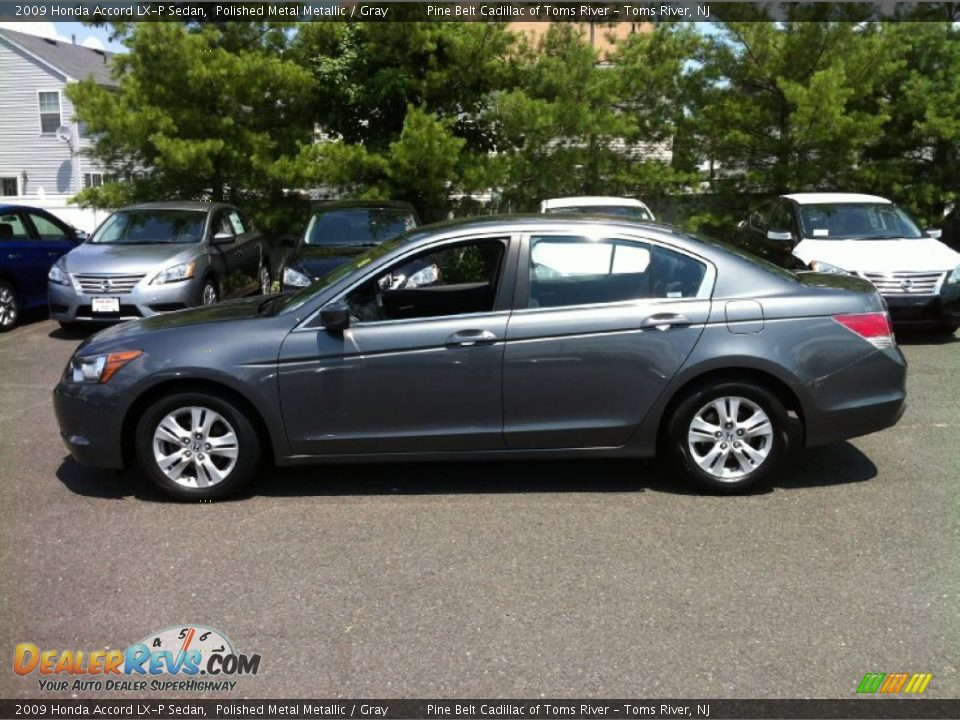 2009 Honda Accord Lx P Sedan Polished Metal Metallic