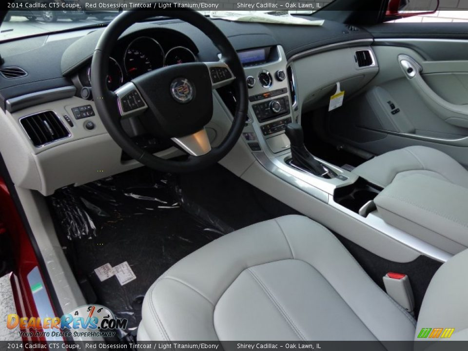light titanium ebony interior 2014 cadillac cts coupe photo 10. Black Bedroom Furniture Sets. Home Design Ideas