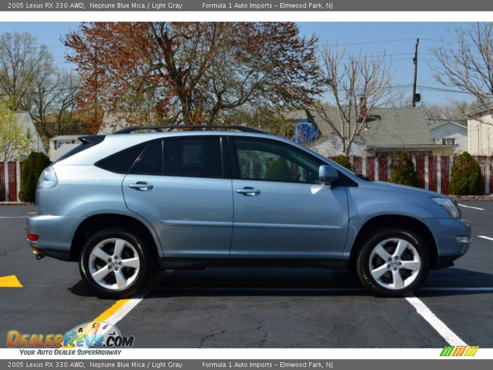 2005 lexus rx 330 awd neptune blue mica light gray photo 8 dealerrevs com