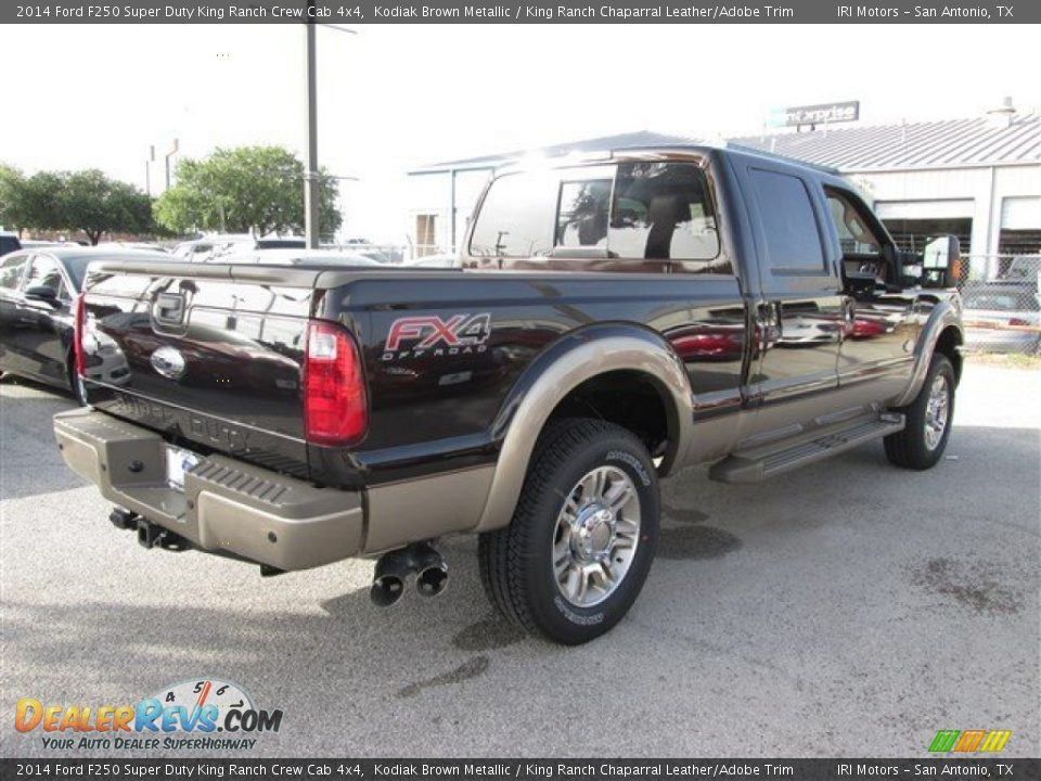 2014 Ford F250 Super Duty King Ranch Crew Cab 4x4 Kodiak Brown