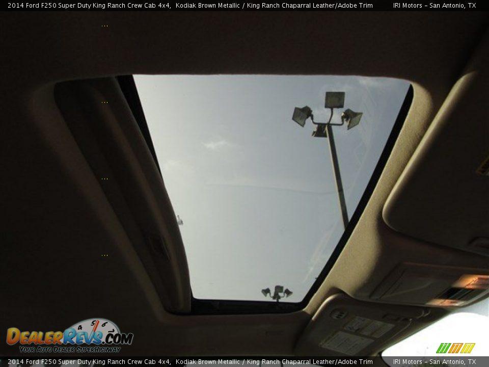 2014 Ford F250 Super Duty King Ranch Crew Cab 4x4 Kodiak Brown