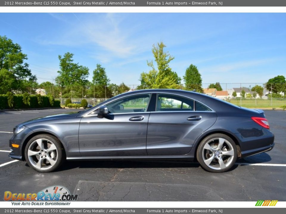 2012 mercedes benz cls 550 coupe steel grey metallic for 2012 mercedes benz cls