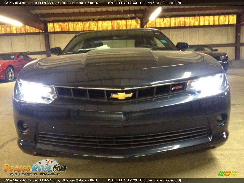 2014 chevrolet camaro lt rs coupe blue ray metallic. Black Bedroom Furniture Sets. Home Design Ideas