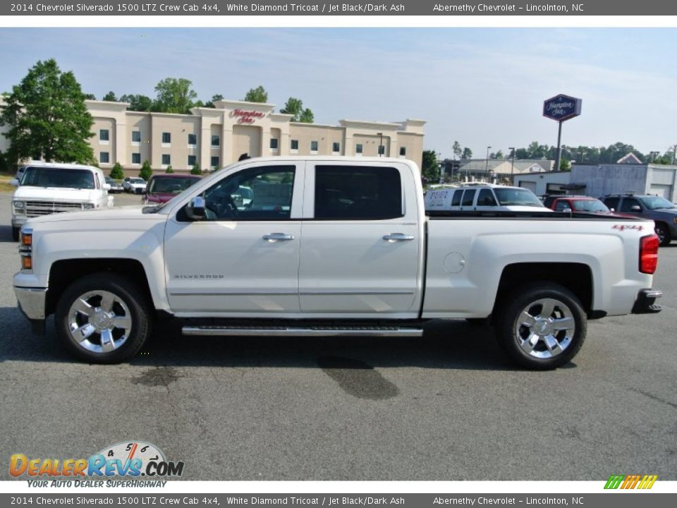 2014 chevrolet silverado 1500 ltz crew cab 4x4 white diamond tricoat. Cars Review. Best American Auto & Cars Review