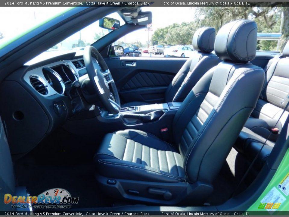 charcoal black interior 2014 ford mustang v6 premium. Black Bedroom Furniture Sets. Home Design Ideas