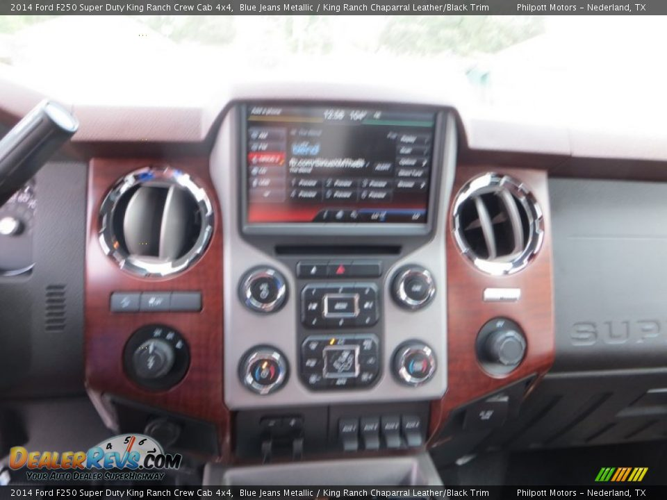 2014 Ford F250 Super Duty King Ranch Crew Cab 4x4 Blue Jeans Metallic