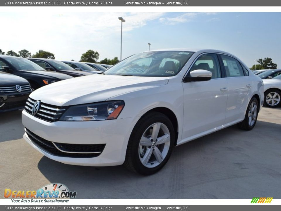 2014 volkswagen passat 2 5l se candy white cornsilk. Black Bedroom Furniture Sets. Home Design Ideas
