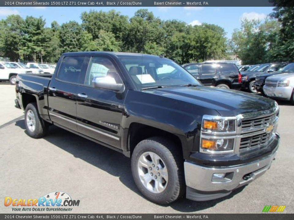 2014 chevrolet silverado 1500 ltz z71 crew cab 4x4 black. Black Bedroom Furniture Sets. Home Design Ideas