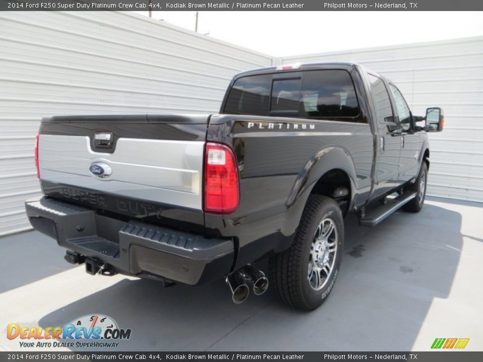 Kodiak Brown Metallic 2014 Ford F250 Super Duty Platinum Crew Cab 4x4