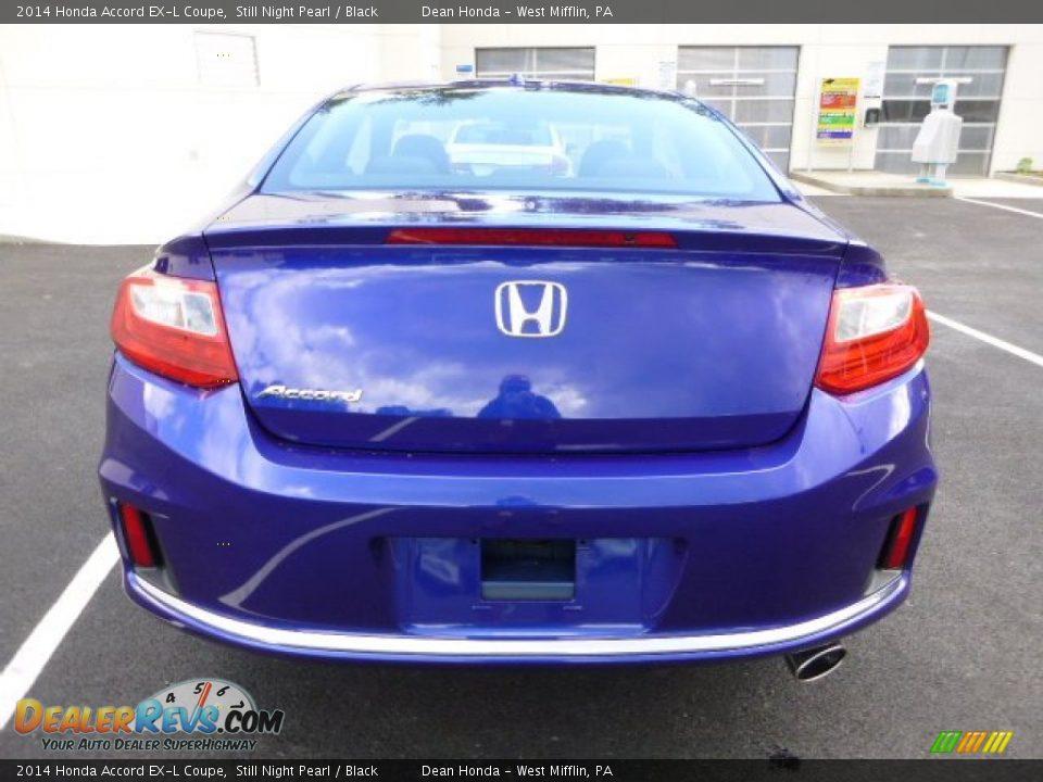 Still Night Pearl 2014 Honda Accord Ex L Coupe Photo 4 Dealerrevs Com
