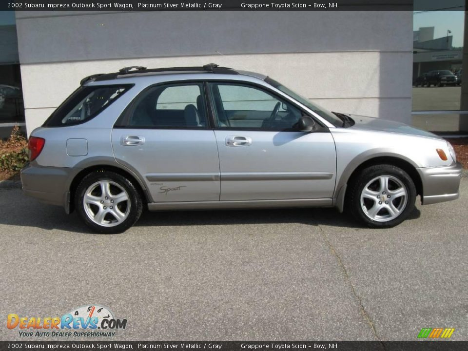 2002 subaru impreza outback sport wagon platinum silver. Black Bedroom Furniture Sets. Home Design Ideas