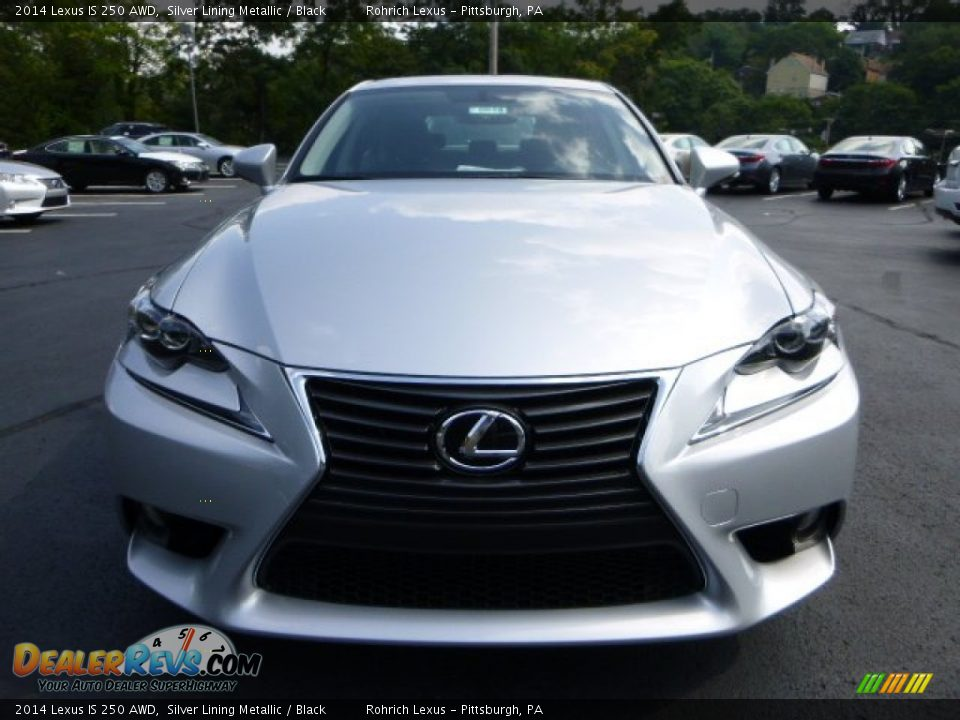 silver lining metallic 2014 lexus is 250 awd photo 7. Black Bedroom Furniture Sets. Home Design Ideas