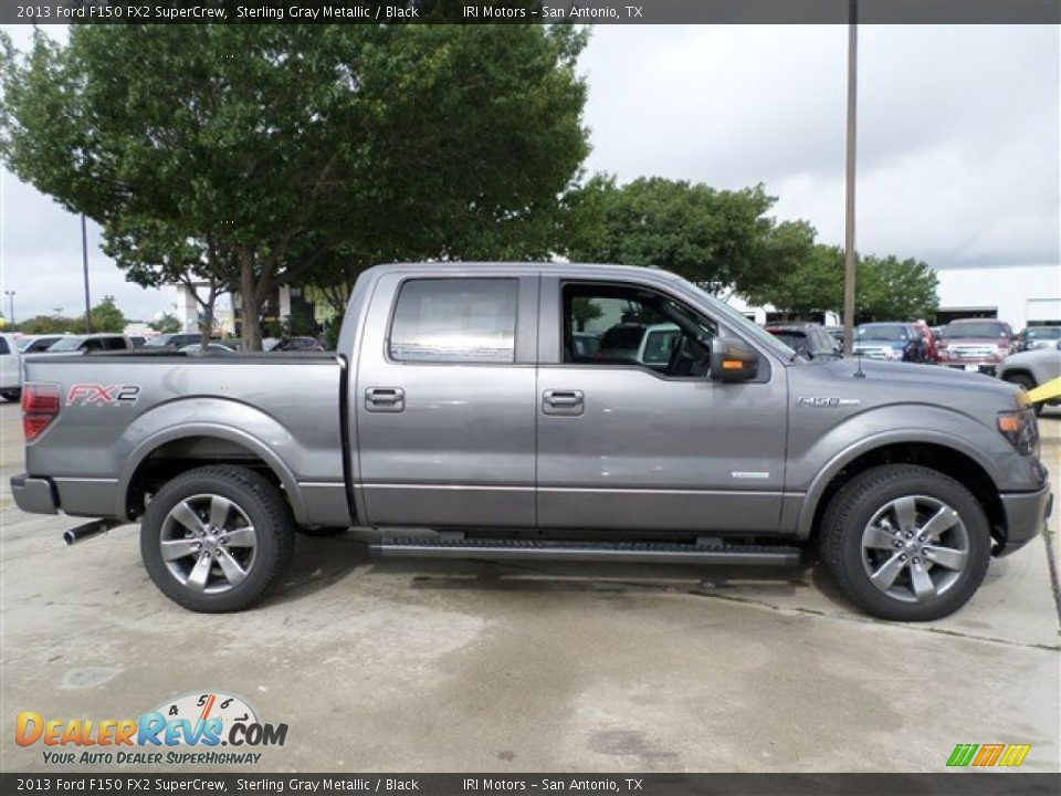 2013 ford f150 fx2 supercrew sterling gray metallic black photo 5. Black Bedroom Furniture Sets. Home Design Ideas